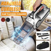 Aspirateur à main sans fil Rechargeable USB Portable Humide sec Lumière LED