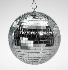 "8"" inch Glass Disco MIRROR BALL Reflective Dance Party Light 1970's Decoration"
