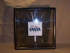 Vintage Enjoy FANTA Soda / Cola Wall Clock Advertising Early 70's Sign RARE!