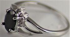 BNWOT Costume jewellery dainty ring with oval semi-precious U.K. Size P