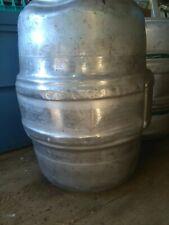 (STAINLESS STEEL)  iron city beer keg