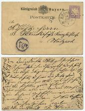 41761 - Bayern - Bahnpoststempel: K.B. Bahnpost Mchen.-Ulm - 31.1. (1881)