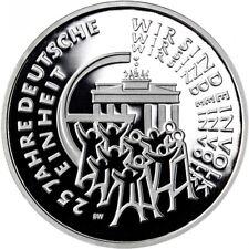 25 Euro Silbermünze 2015 - 25 Jahre Deutsche Einheit-   Prägeanstalt J (Hamburg)
