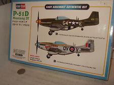 Hobby Boss 85802 P-51D Mustang 1V Model Kit in 1:48 Scale.