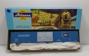 Athearn 1979 HO Wabash 4 Door Hi-Cube Box Car Kit LN/Box