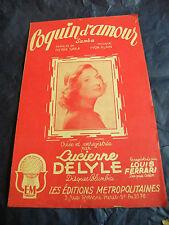 Partitur Coquin d'amour von Yvon Alain 1950 Lucienne Deleyle