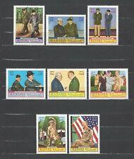 Manama 1970 Mi#403-10A  Dwight D. Eisenhower  MNH Set $5.40