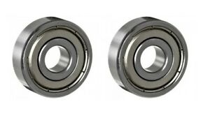 PAIR OF BEARINGS SUITABLE FOR POWAKADDY TOUCH PRE 2016 GOLF TROLLEY FRONT WHEEL