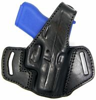 Premium Leather Thumb Break Belt Holster for Kahr p pm cw 45 cw45 pm45 p45