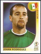 PANINI KOREA/JAPAN WORLD CUP 2002- #502-MEXICO-JOHAN RODRIGUEZ