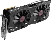 New ASUS STRIX DIRECTCU II  NVIDIA GTX 970 4GB 256-BIT GDDR5