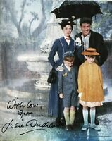 Julie Andrews Mary Poppins Autograph Signed Photo Cinema Walt Disney Authentic