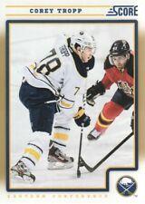 2012-13 Score Hockey Gold Rush #83 Corey Tropp Buffalo Sabres