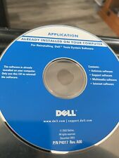 Dell Tools System Software Reinstall CD Application Disc Dell September 2004