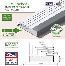 Dacatie Cavity Closers for 50-100mm Cavities - 14.4metres = 2.4m x 6 Lengths