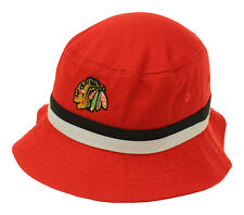 NHL Toddlers Chicago Blackhawks Bucket Hat, Red, One Size Fits Most