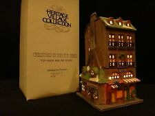 """Dept 56 Christmas in the City """"Toy Shop & Pet Store"""""""