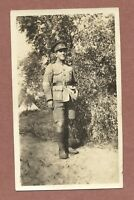 "British Corporal  ""Charlie"", Ludd Palestine, 1920, now Lod, Israel  tent    RK32"