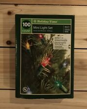 Christmas Lights - 100 count multi-color 23 ft indoor/outdoor