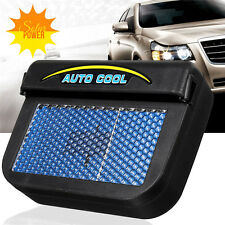 Solar Lüfter Ventilator Kühler Auto Car Luft Kühl Cool Solarlüfter Cooler