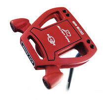 "NEW Ray Cook Limited Edition Silver Ray SR500 35"" Red Spider Mallet Putter"