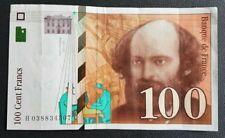 FRANCE - FRANCIA - FRENCH NOTE - BILLET DE 100 FRANCS PAUL CEZANNE 1997.