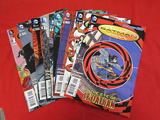 BATMAN INCORPORATED NEW 52 MIXED LOT #1, 2, 5, 6, 7, 9, 10, 13, AND SPECIAL #1