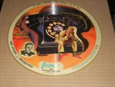 """ART KASSEL whiffenpoof song / if that phone ( pop ) 10"""" picture disc VOGUE R770"""