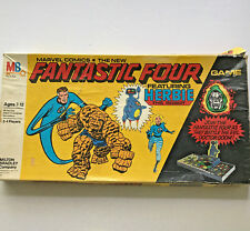 Fantastic Four Milton Bradley Vintage Board Game 1978 Incomplete