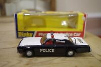 Vintage Dinky Plymouth Police Car No 244 Boxed