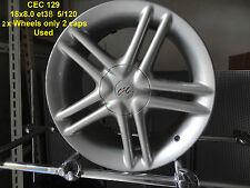 GENUINE CEC 129 WHEEL 18x8 INCH 5x120 BMW HOLDEN ALLOY RIM MAG SPARE E36 E46 E92