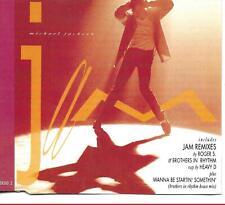 Michael Jackson Jam UK CD Single