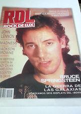 """REVISTA """"ROCK DE LUX NUMERO 25"""" EN MUY BUEN ESTADO BRUCE SPRINGSTEEN JOHN LENNON"""