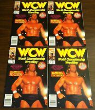1992 MARVEL WCW # 1 , 4 ,5 LEX LUGER RICK RUDE STING 11 COMIC BOOK LOT