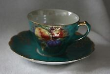 Vintage Royal Halsey Lipper & Mann Very Fine China Teacup and Saucer