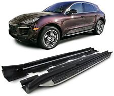 Aluminium footboard side step side board for Porsche Macan from 14
