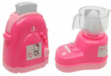 Hello Kitty Kitchen Play Appliances Toaster & Juicer Girls Mini Toaster & Juicer