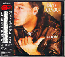 David Gilmour About Face 1994 Japan CD 1st Press With Obi SRCS-6406 OOP HTF Rare