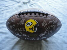 Green Bay Packers 2017 Team AUTOGRAPHED Give Back Foundation Football