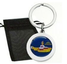 THE BEATLES YELLOW SUBMARINE METAL KEYRING & GIFT BAG HIGH QUALITY