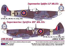 AML Models Decals 1/48 SUPERMARINE SPITFIRE LF Mk.IXc Part 1