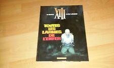 XIII TOME 3 TOUTES LES LARMES DE L'ENFER