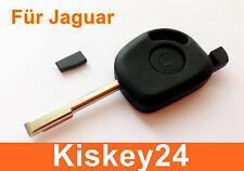 Boîtier vide Clé de voiture avec le / LA Crypto transpondeur pour JAGUAR S –