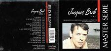 Jacques Brel cd album - Master Serie Vol.1