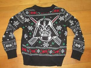 DARTH VADER Christmas Style Ugly sweater Youth 3T Holiday Sweater Star Wars