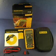 New Fluke 77IV Multimeter, Original Box, Bonus Case