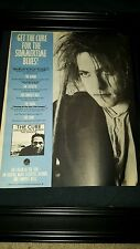 The Cure Standing On A Beach Rare Original Promo Poster Ad Framed!
