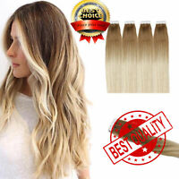 Best AAAA Grade Highlight Tape In 100% Human Hair Extensions Skin Weft US3456E