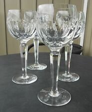 WATERFORD ARCHIVE CUT CRYSTAL SHEILA WINE HOCK (S) GLASS(ES)