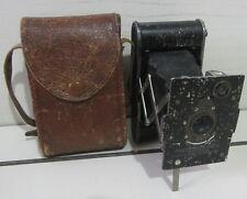 Macchina fotografica a soffietto KODAK con custodia/ Vintage!